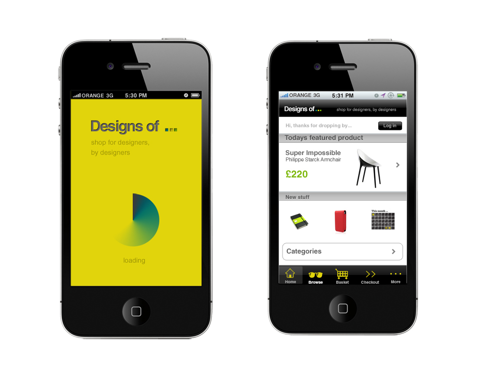 Designs Of... - iPhone App