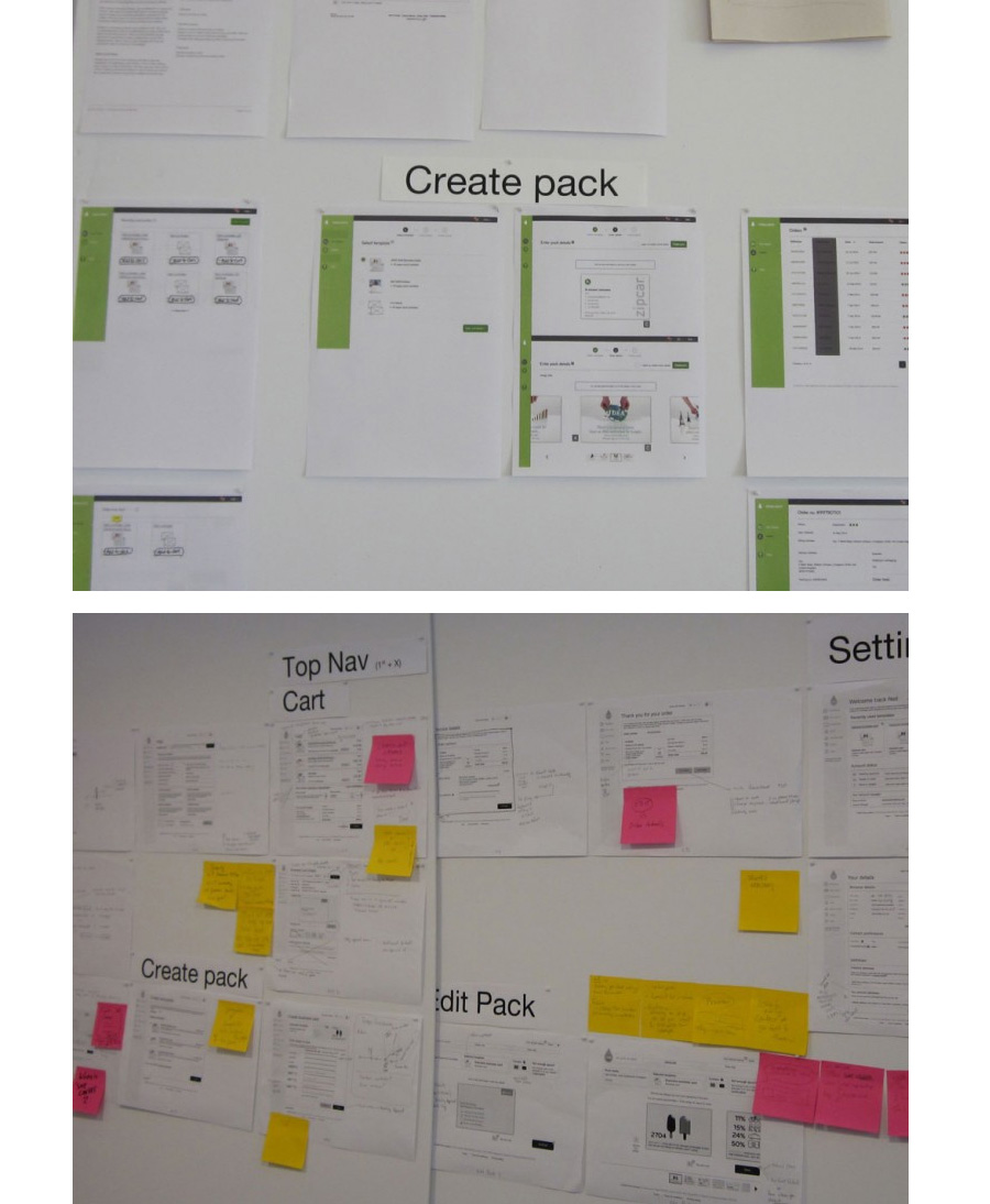 M4B UX Boards